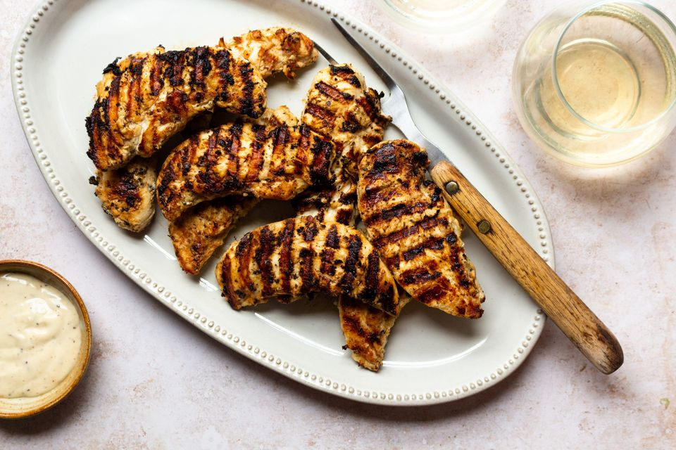 Easy Marinated Grilled Chicken Tenders