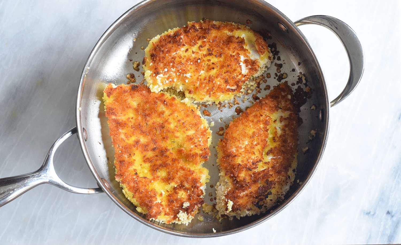 Fry on both sides until golden brown