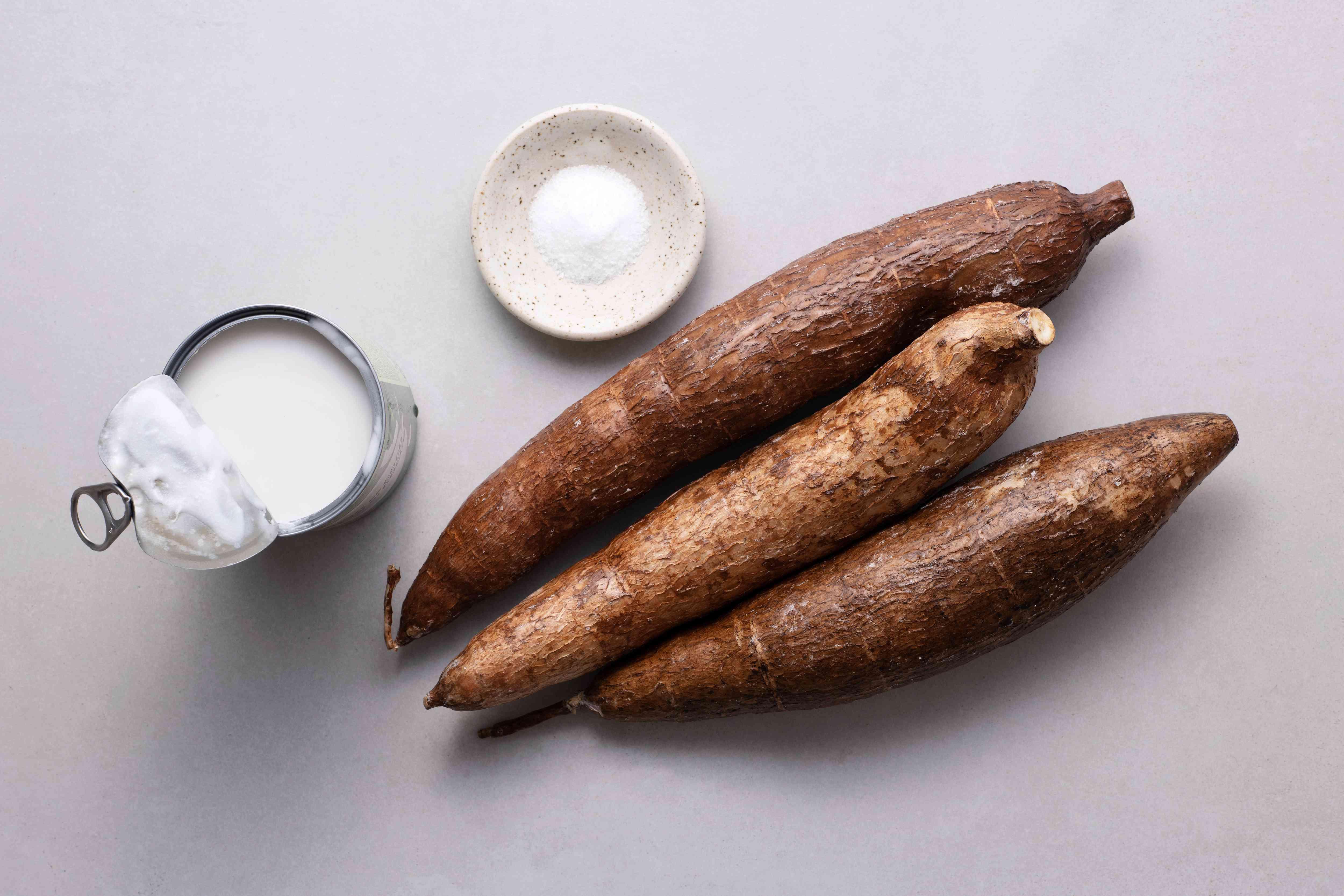Jamaican Bammies (Cassava Bread) ingredients