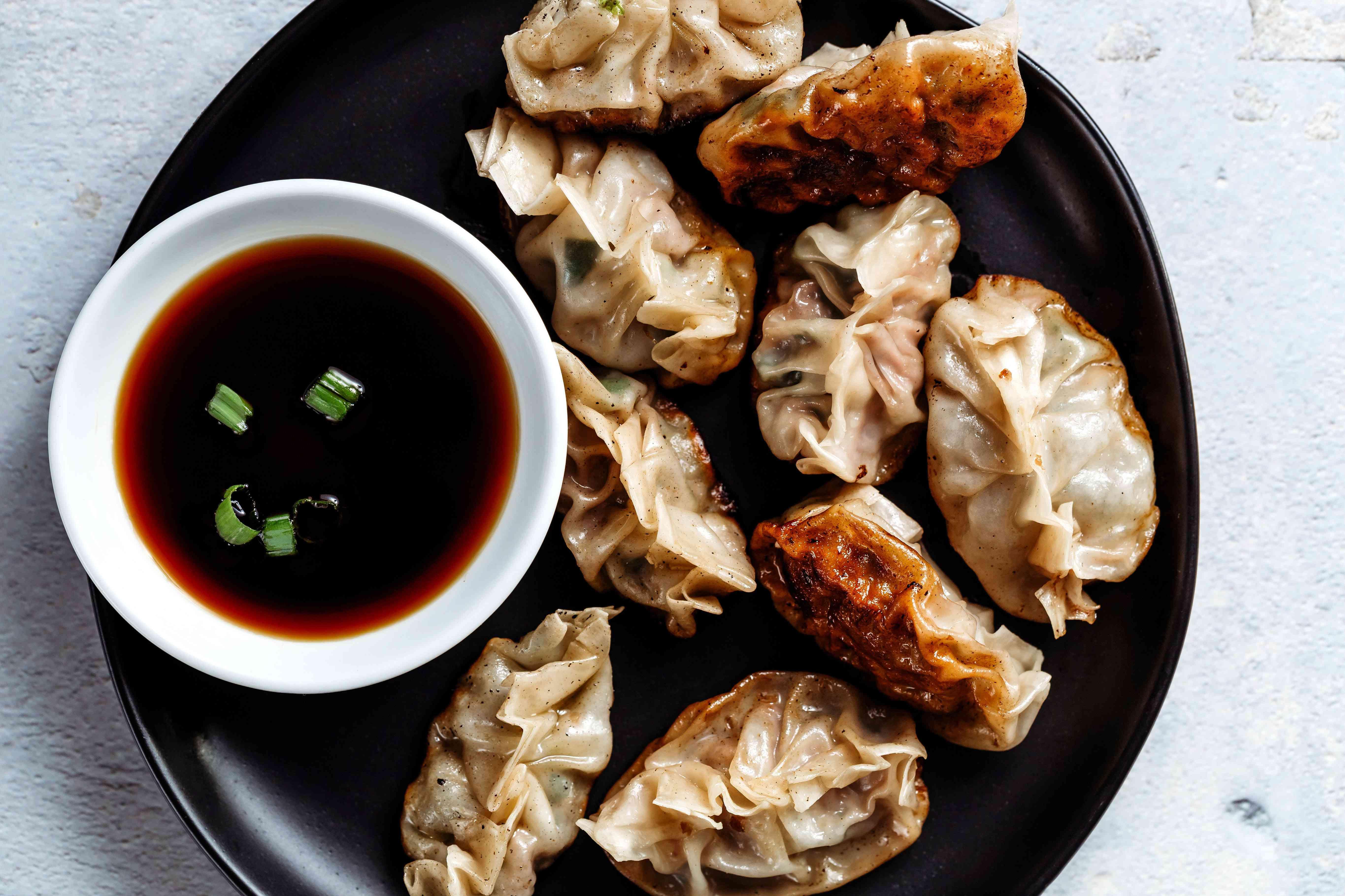 Chinese Pan-Fried Dumplings