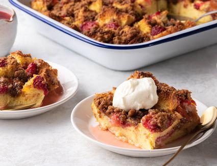 Strawberry Shortcake French Toast Casserole