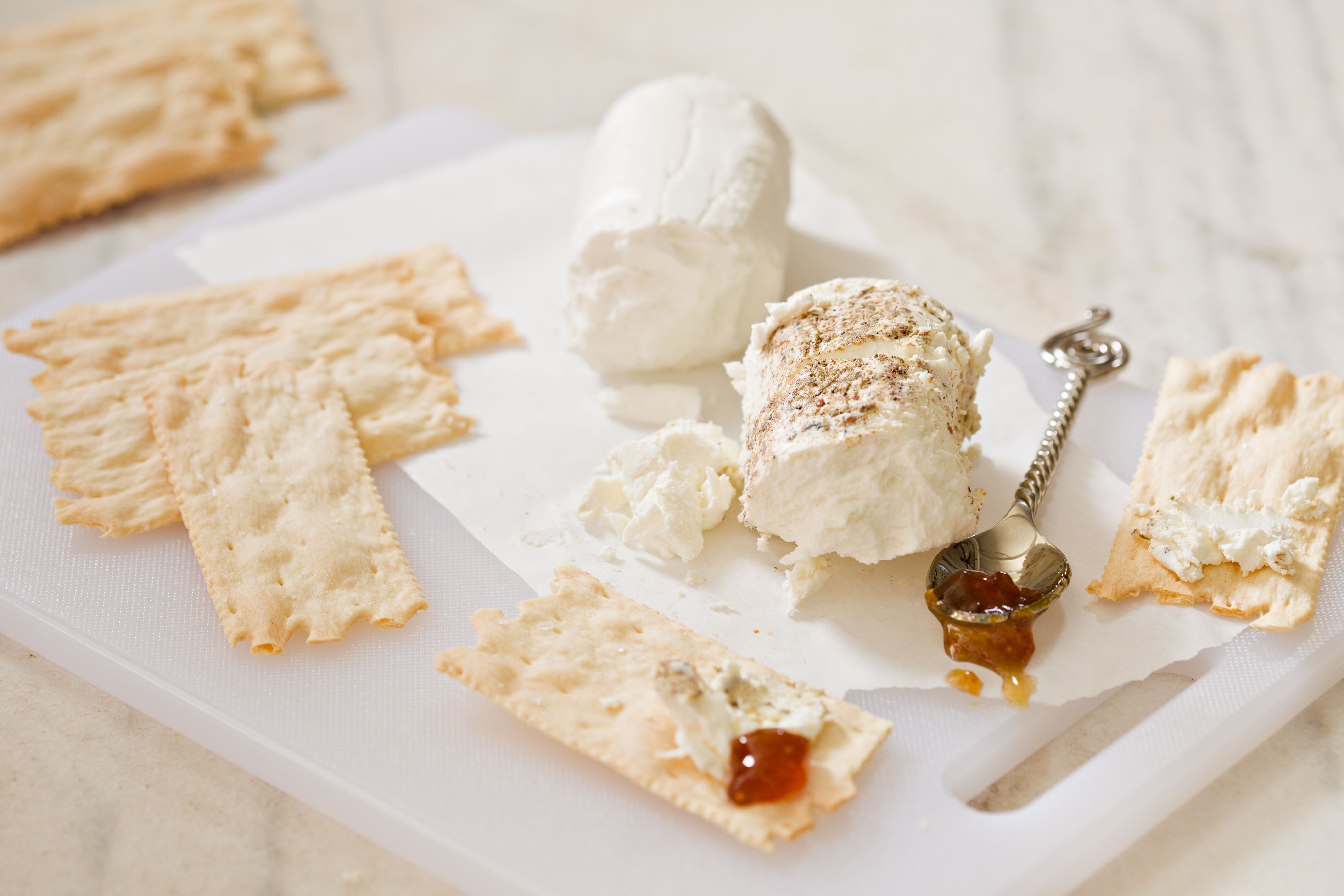 Goat Cheese With Fig Jam