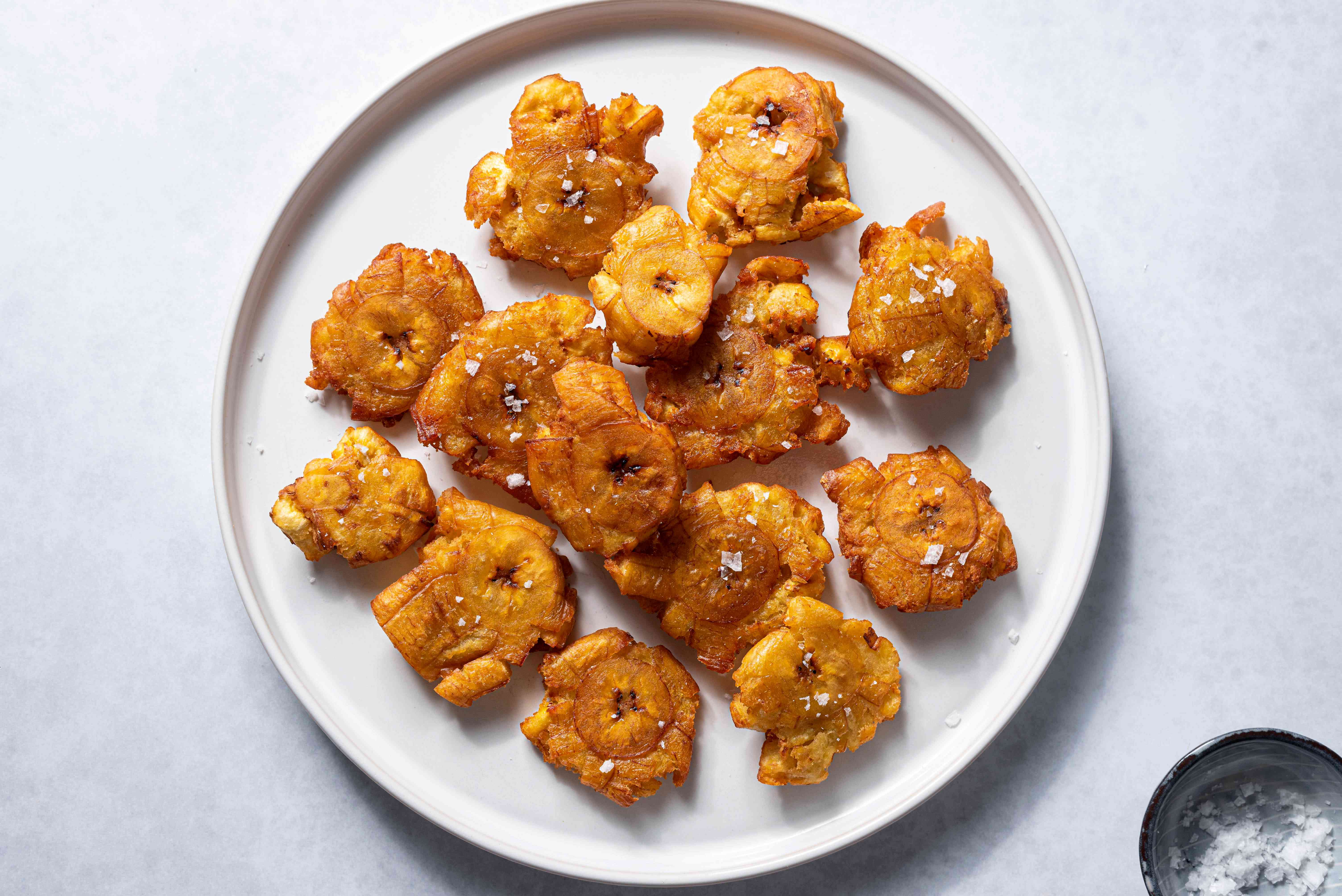 Tostones: Twice-Fried Green Plantain Chips Recipe