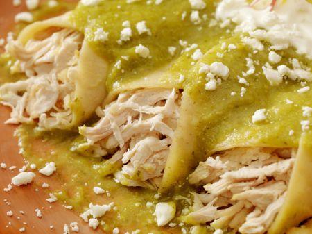 Chicken Enchiladas With Salsa Verde Recipe