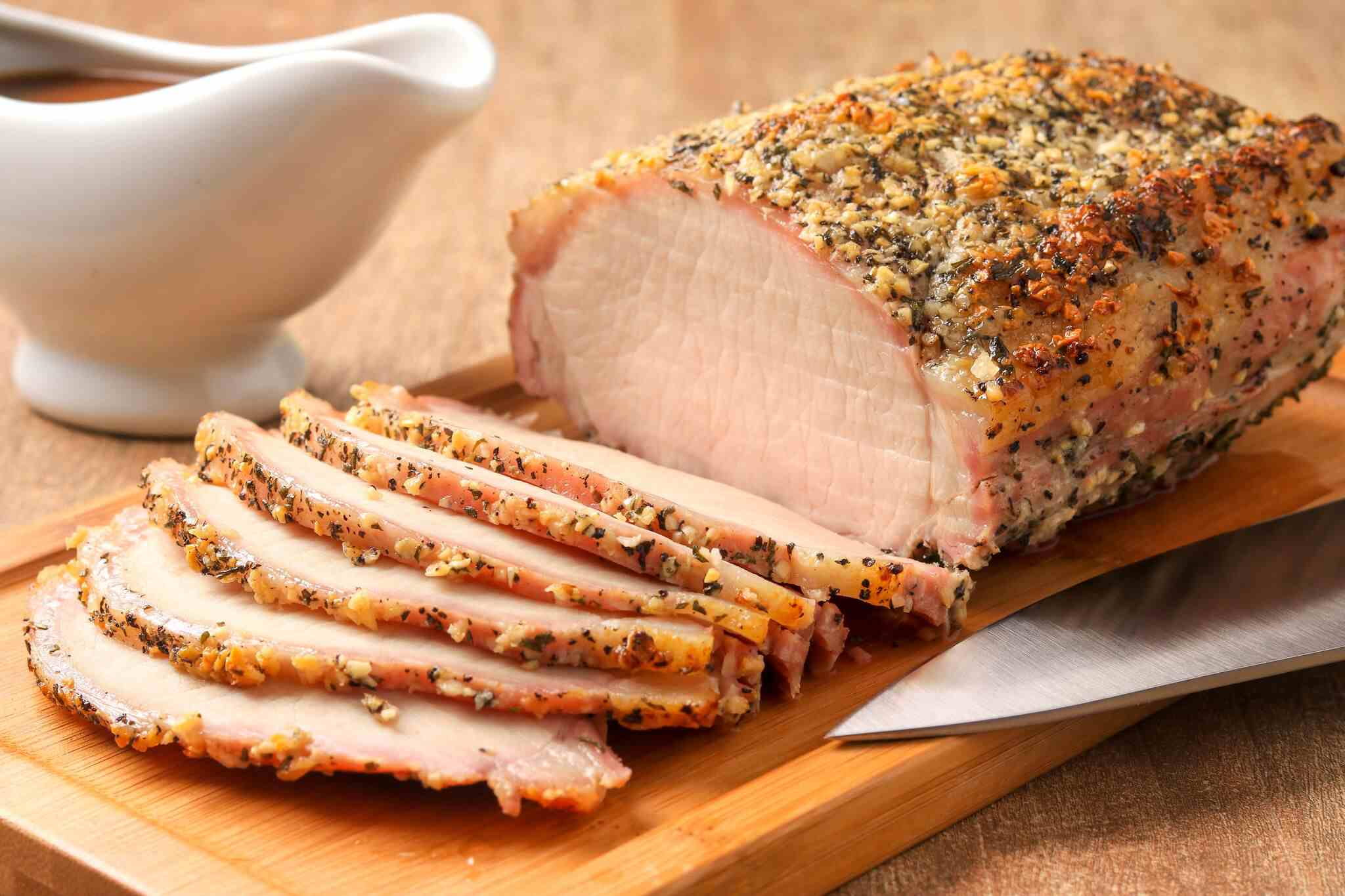 Bone In Pork Loin Roast Recipe Food Network | Deporecipe.co