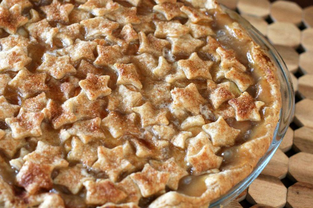 Pear Pie With Spiced Crust