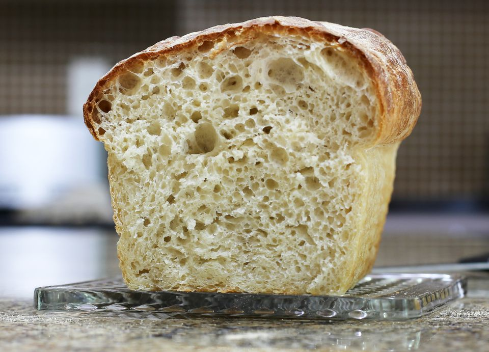 No-Knead Bread Texture