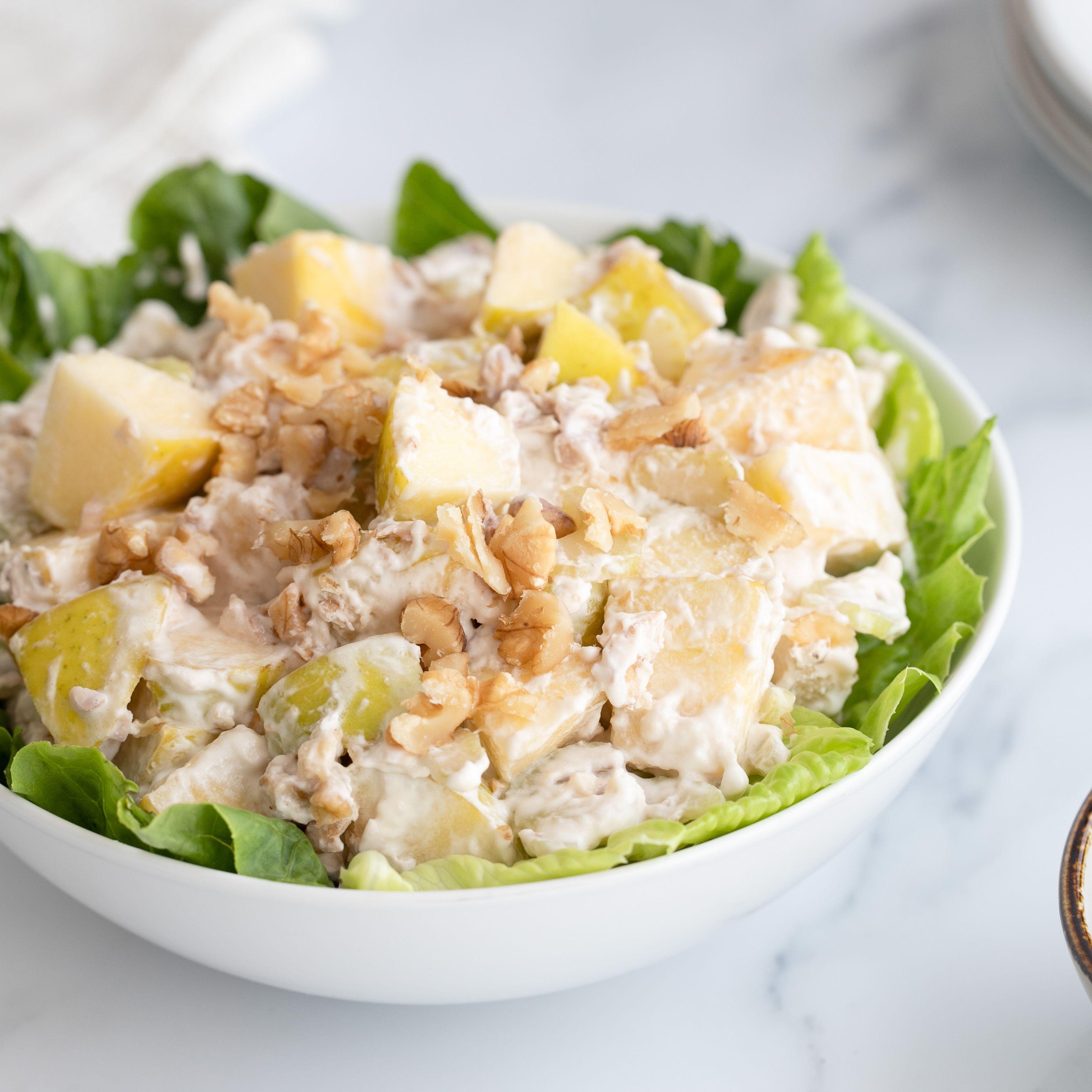 Waldorf Salad Recipe No Celery