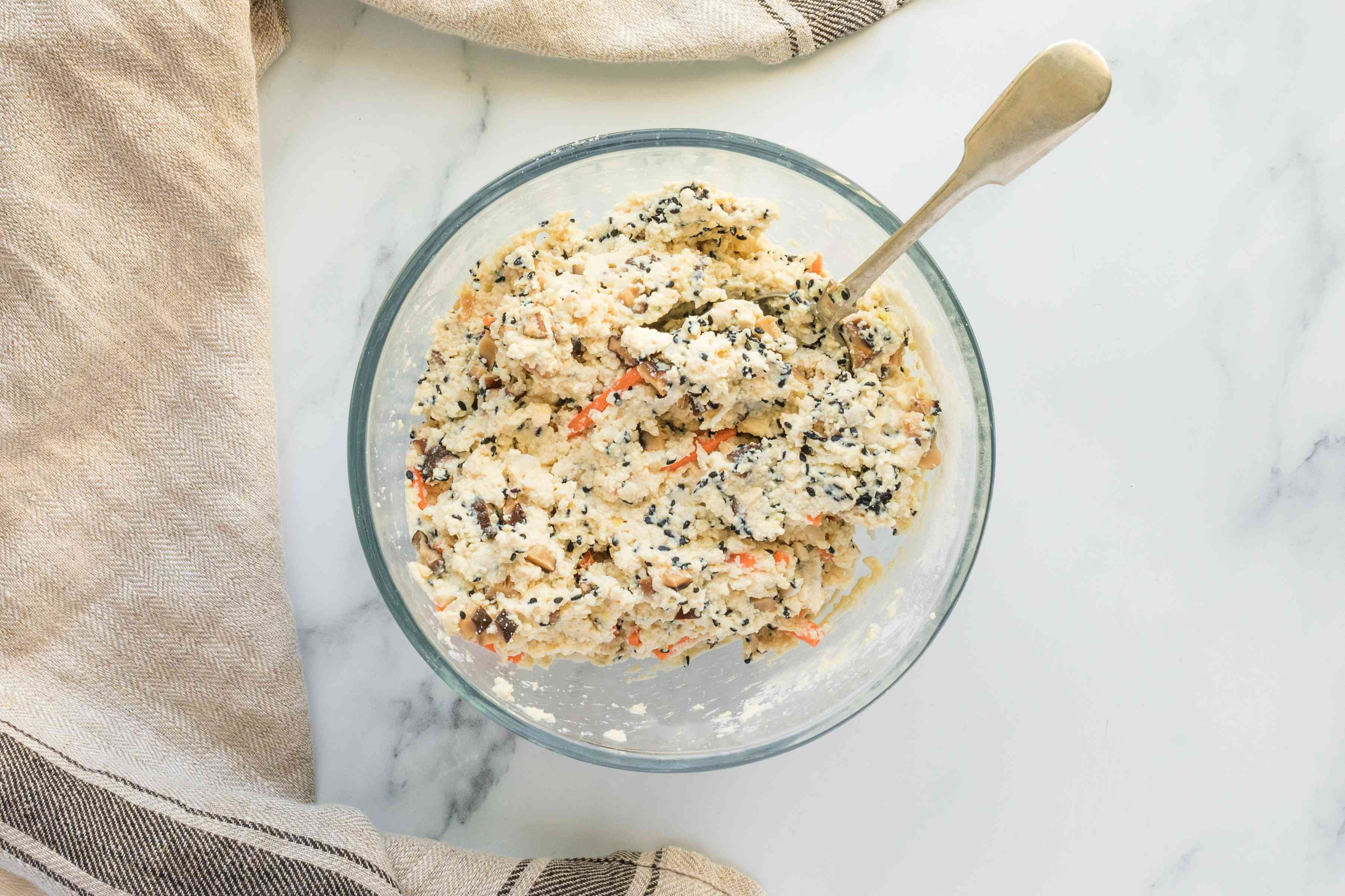 Add carrot and shiitake