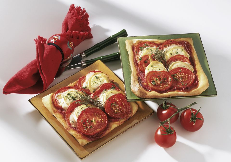 French Goat Cheese and Tomato Tart