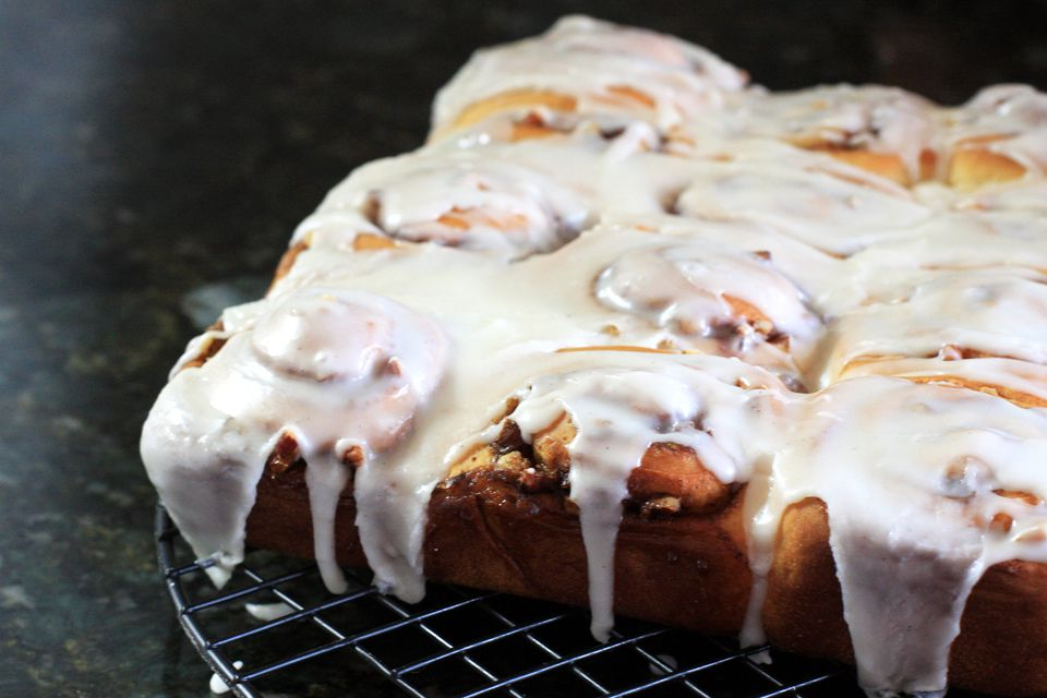 Rich Cinnamon Rolls, Make Ahead