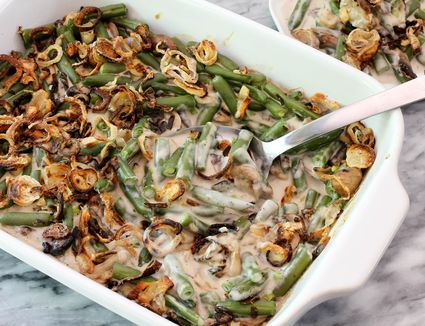 homemade green bean casserole