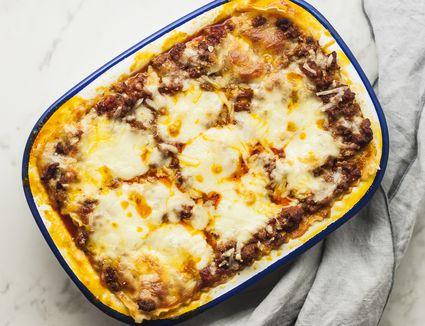 bake the lasagna