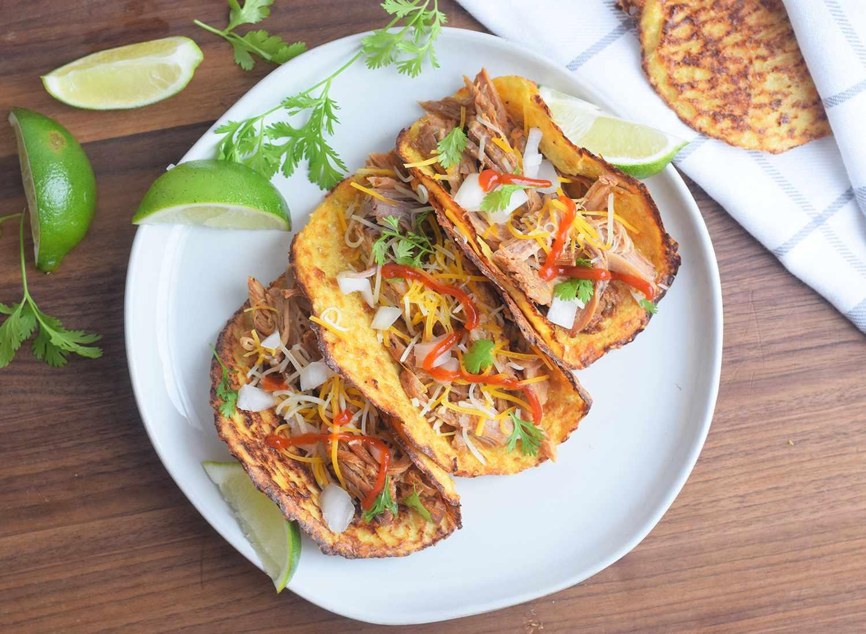 cauliflower tortilla tacos