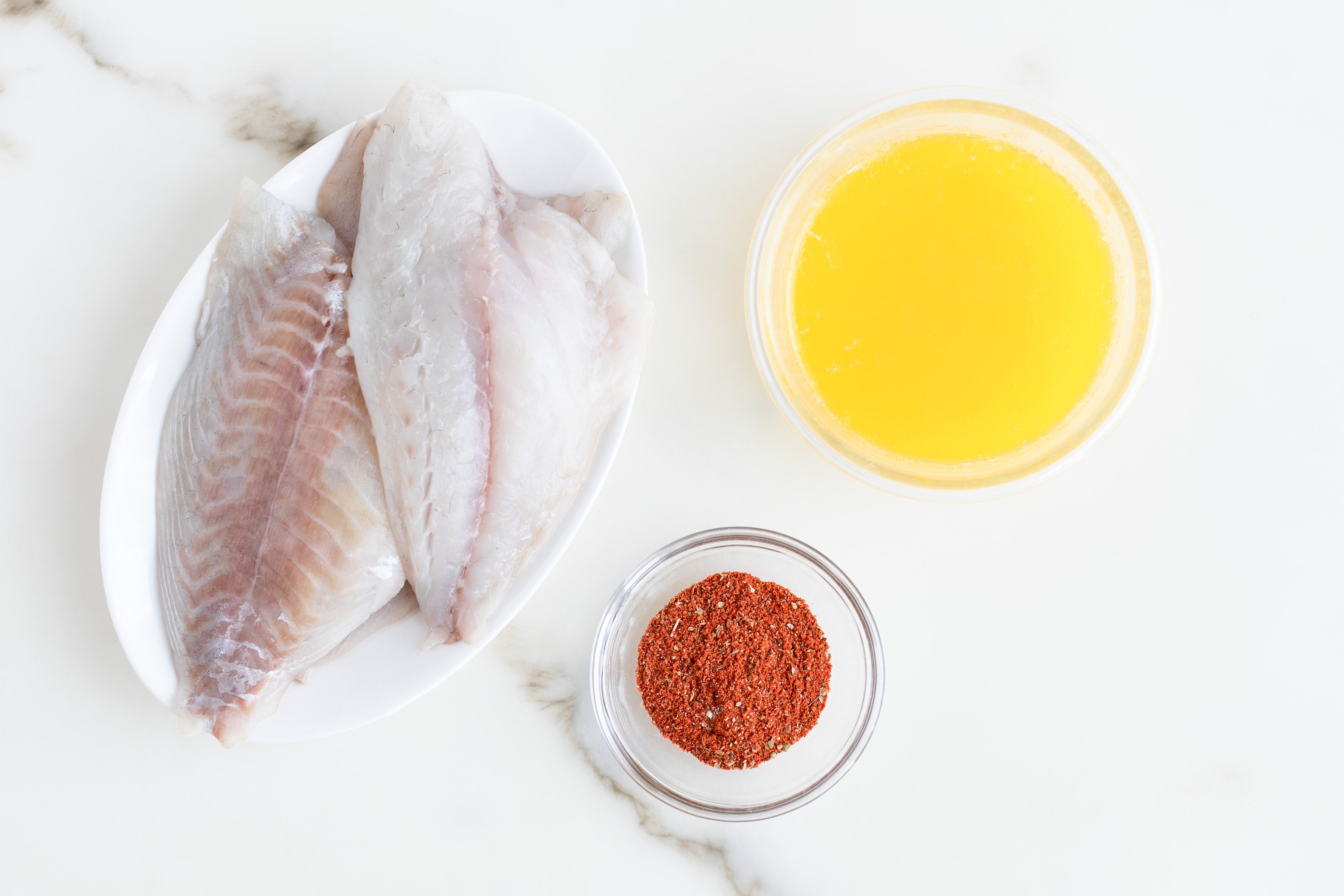 Blackened Fish on the Grill Recipe ingredients