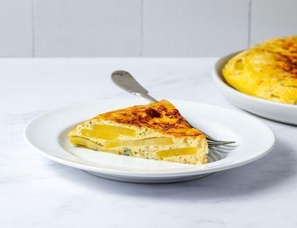 Tortilla Española (Potato and Onion Frittata)