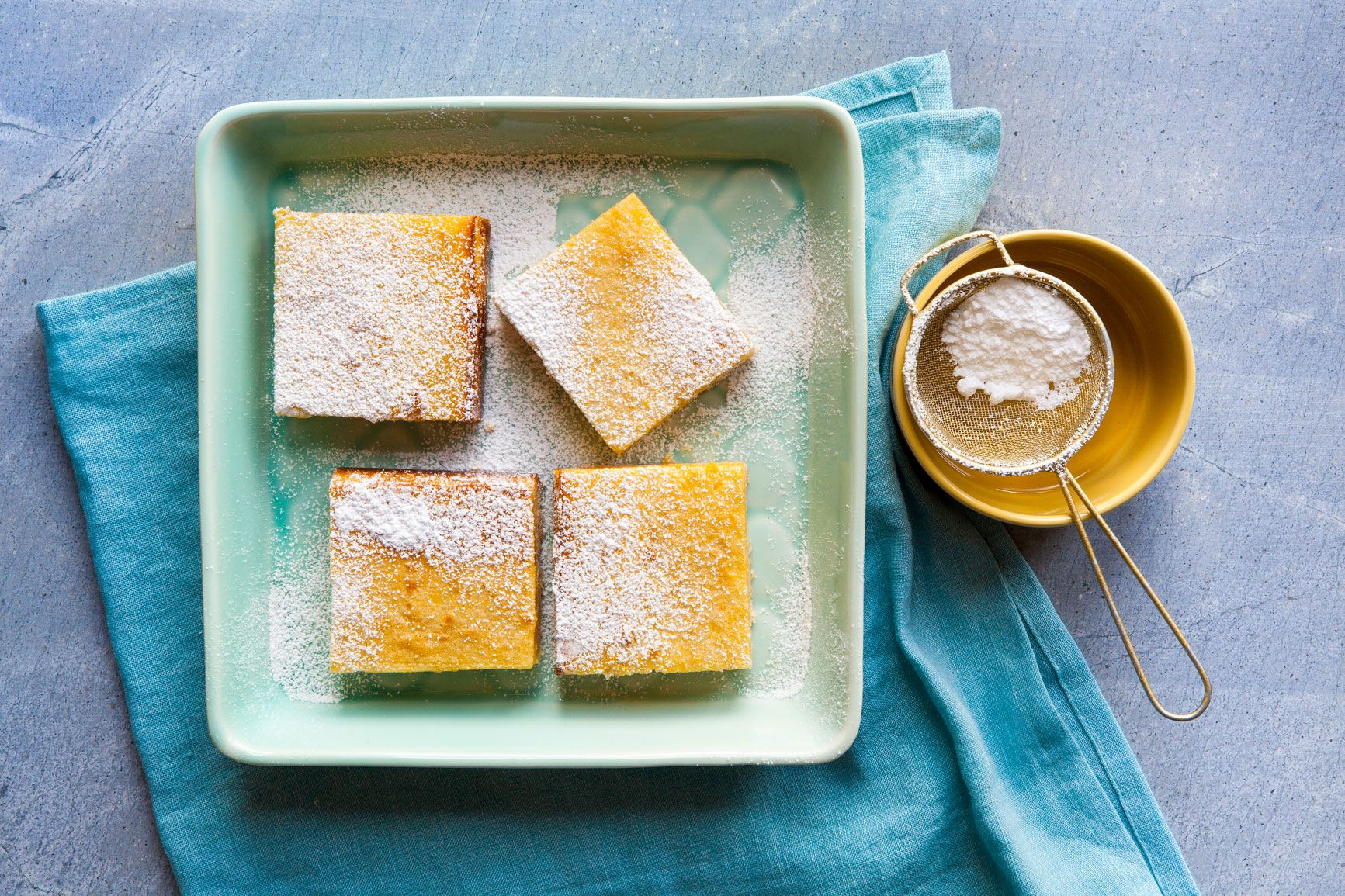 These Keto-Friendly Lemon Bars Bring a Dose of Sunshine to the Dessert Table