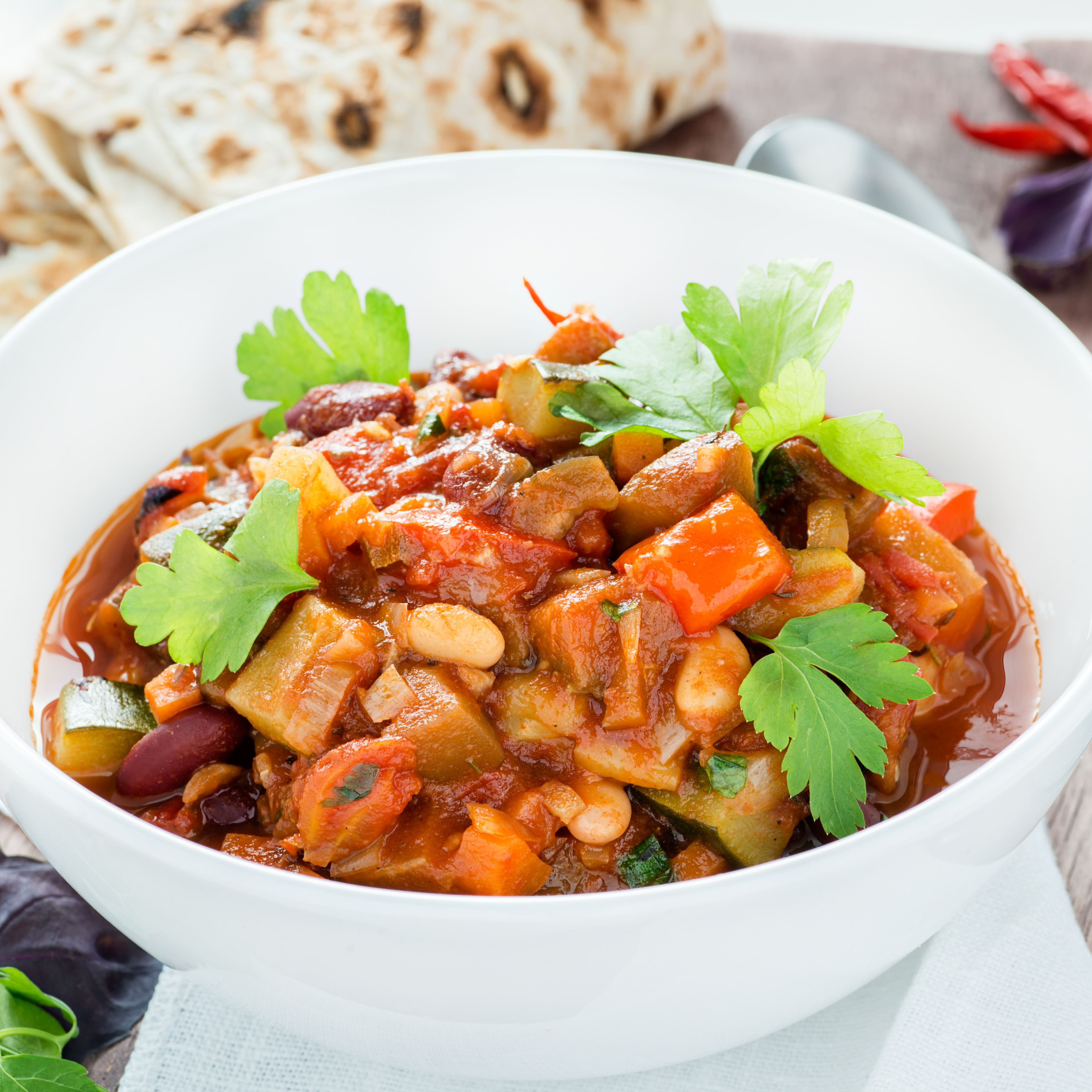 Vegetarian Tofu Chili Recipe