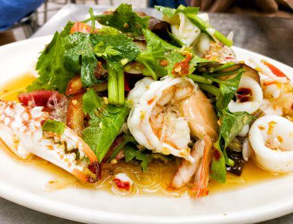 Thai Seafood Salad.