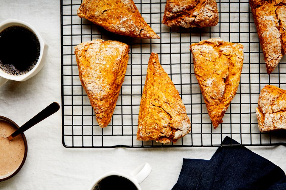 Easy pumpkin scones