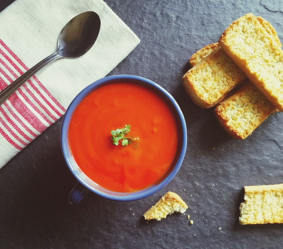 20 healthy recipes to transform your office lunch fresh tomato soup forumfinder Gallery