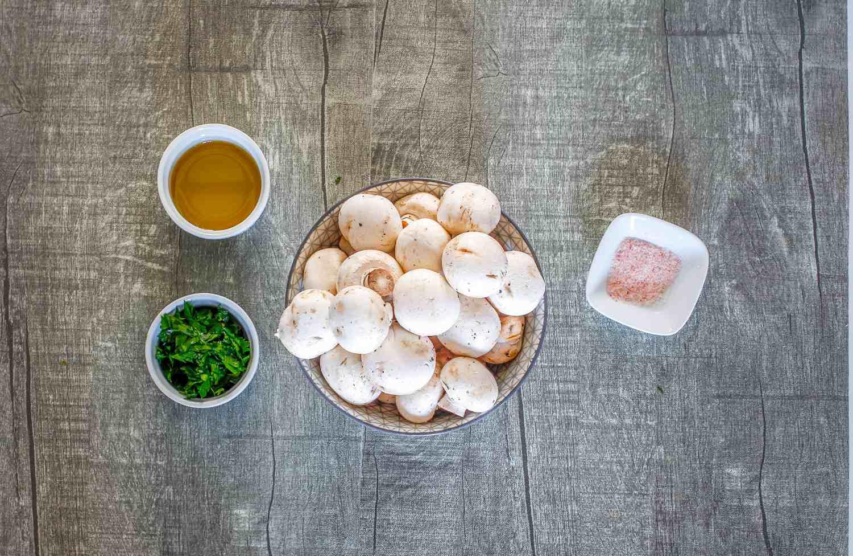 Sautéed Mushrooms Recipe ingredients