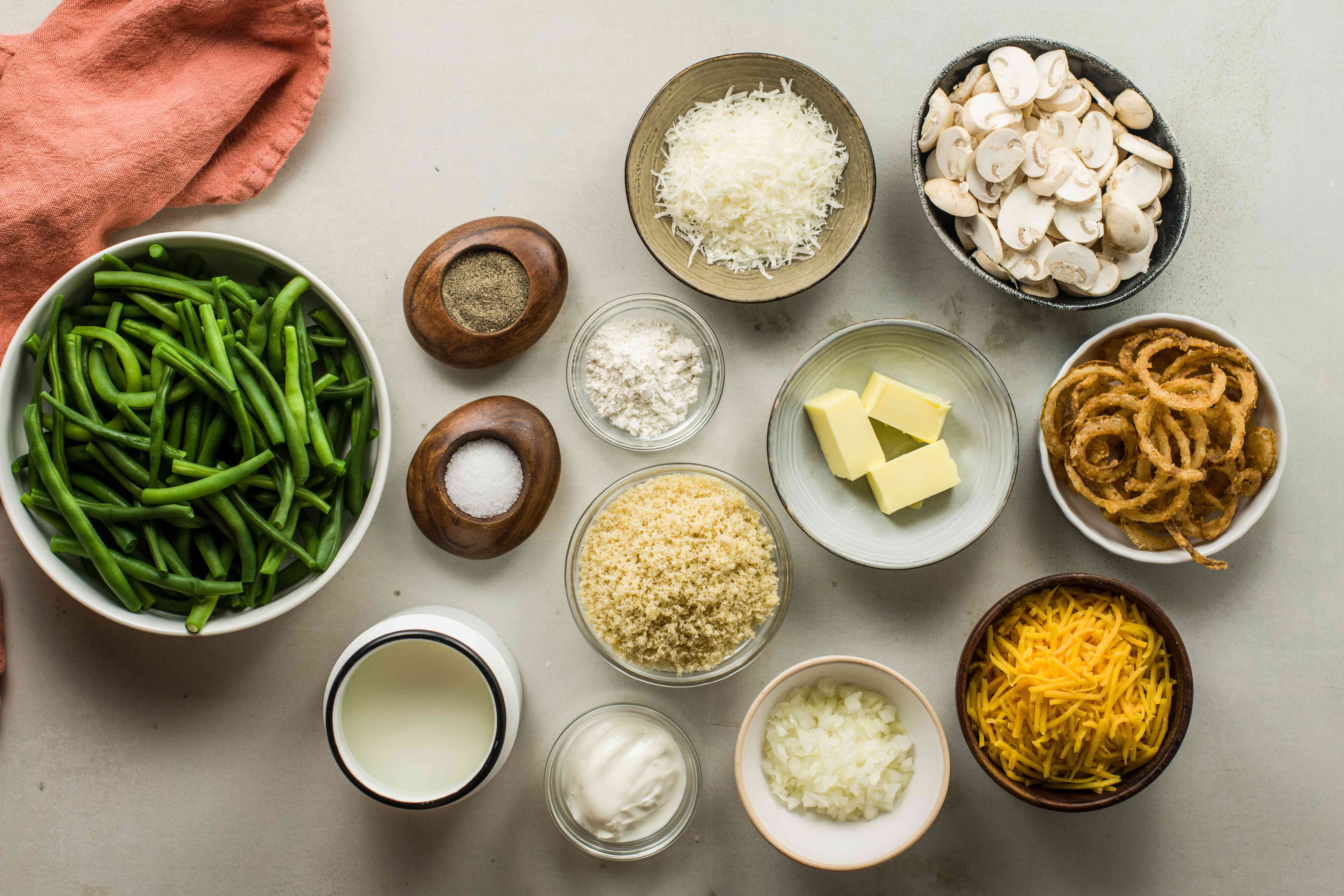 Southern green bean casserole ingredients