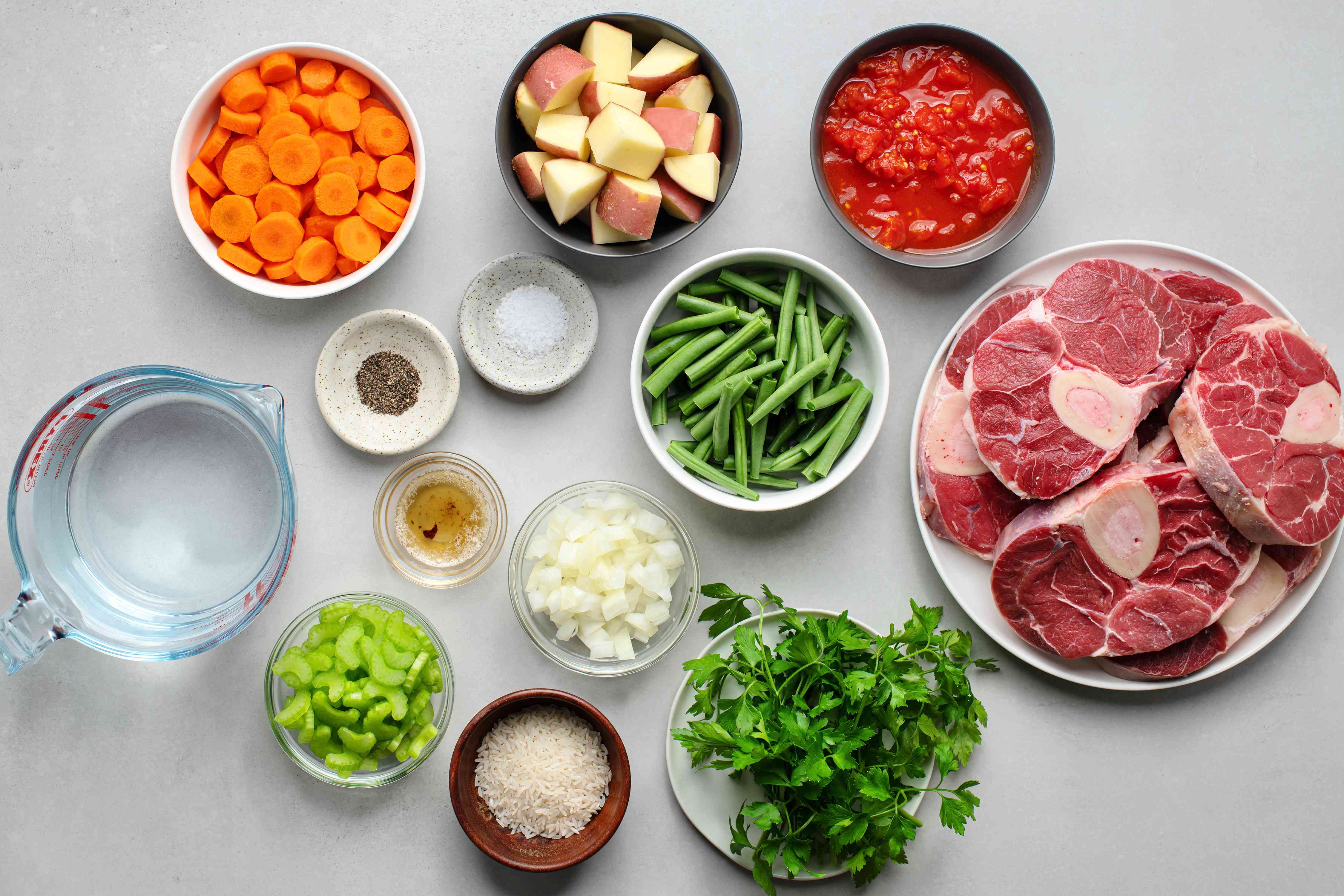 Old-Fashioned Vegetable Beef Soup ingredients