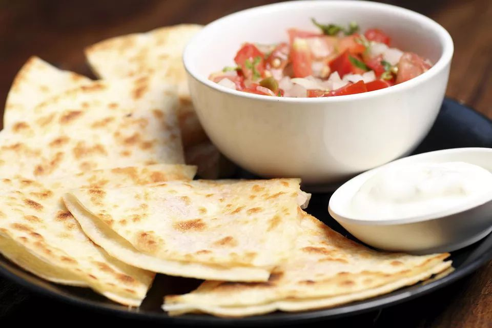 Vegetarian Oven-Baked Cheese and Bell Pepper Quesadillas