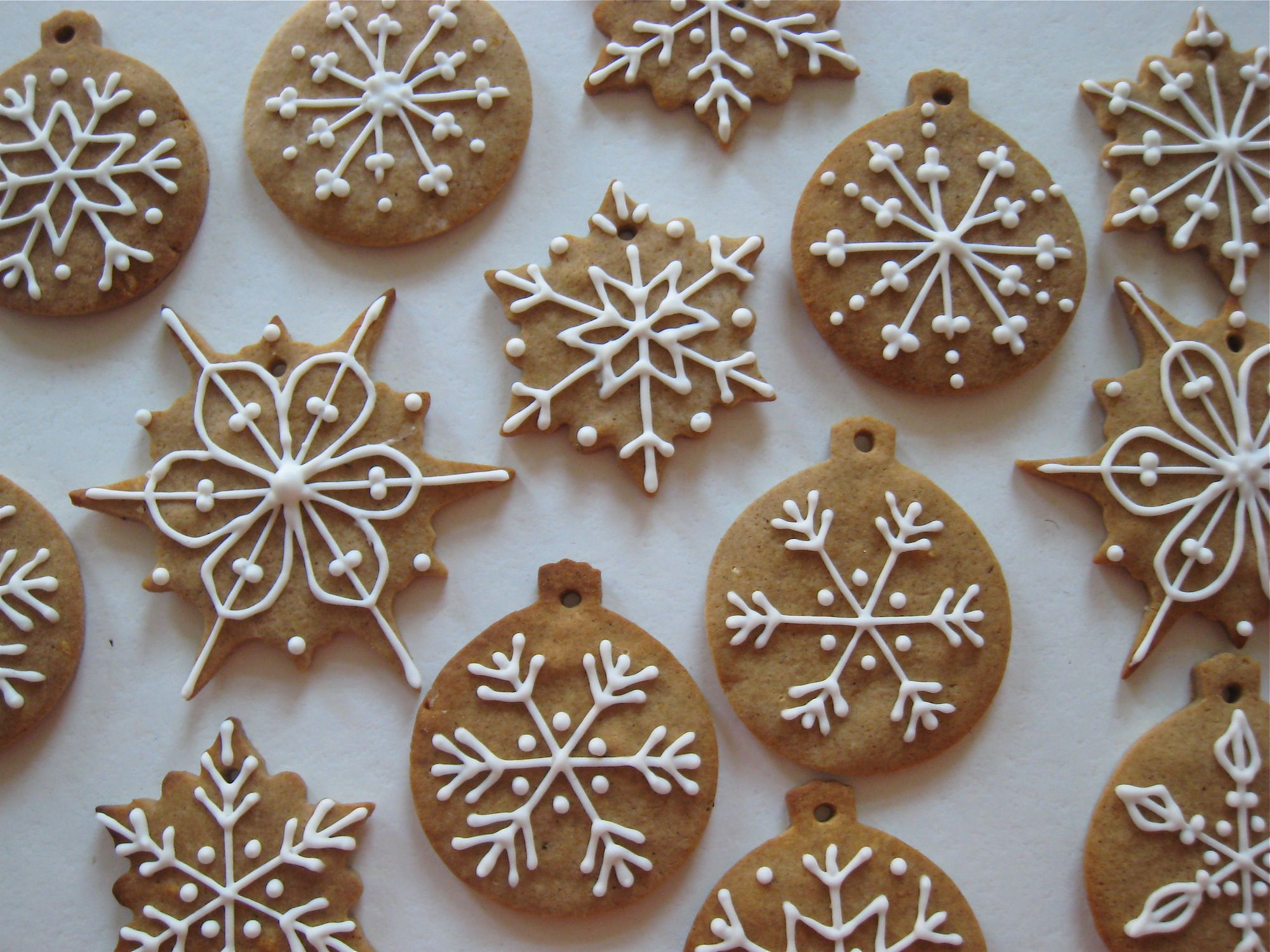 Gingerbread Cookies Czech Pernik Na Figurky