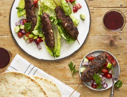 Adana Kebab (Ground Lamb Kebab)
