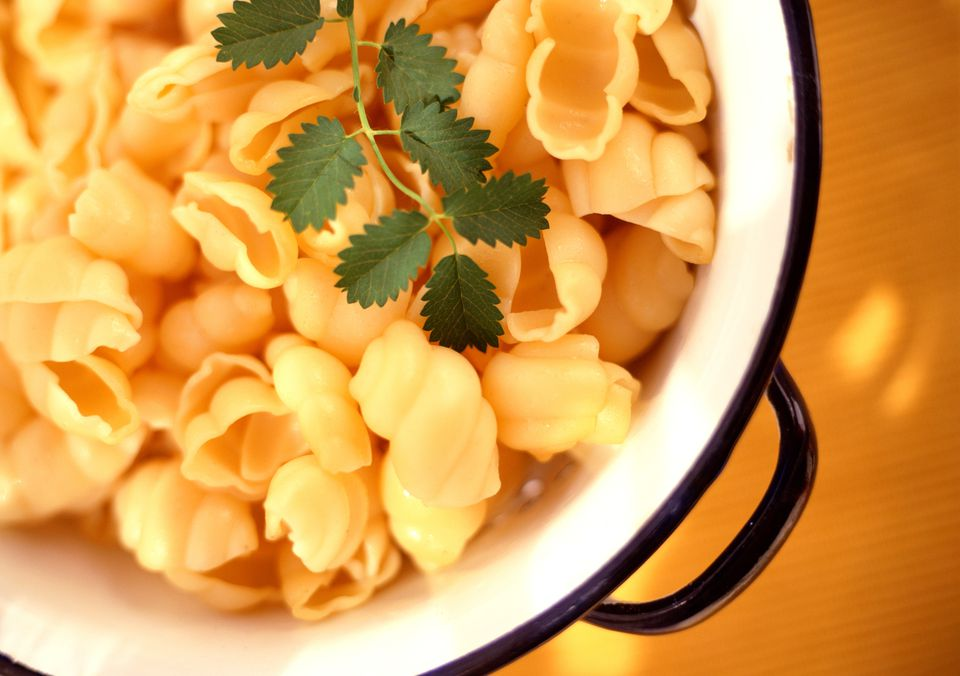 Conchas de parmesano y queso