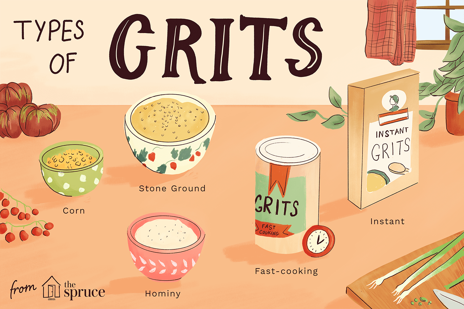 Types of grits