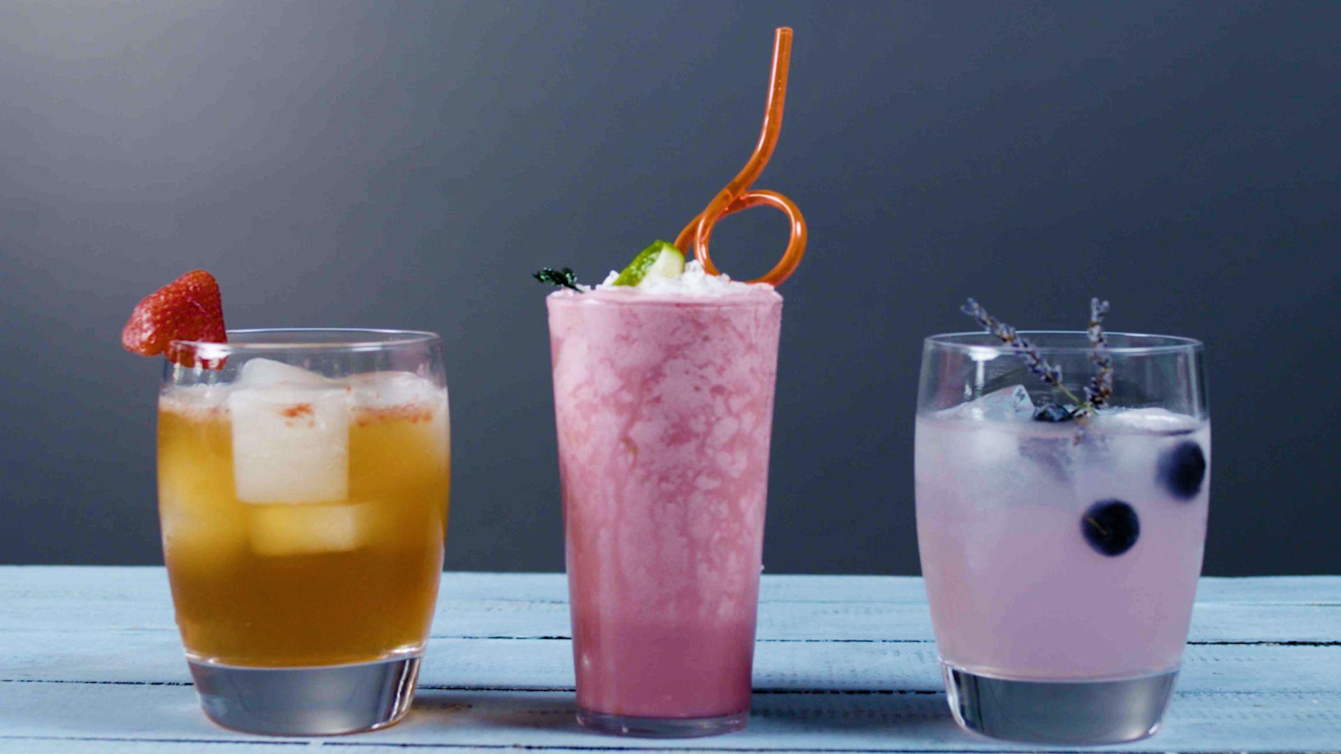 3 Beautiful Summer Cocktails