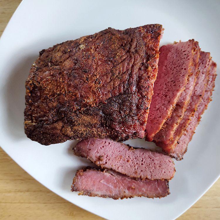 Smoked Corned Beef Tester Image