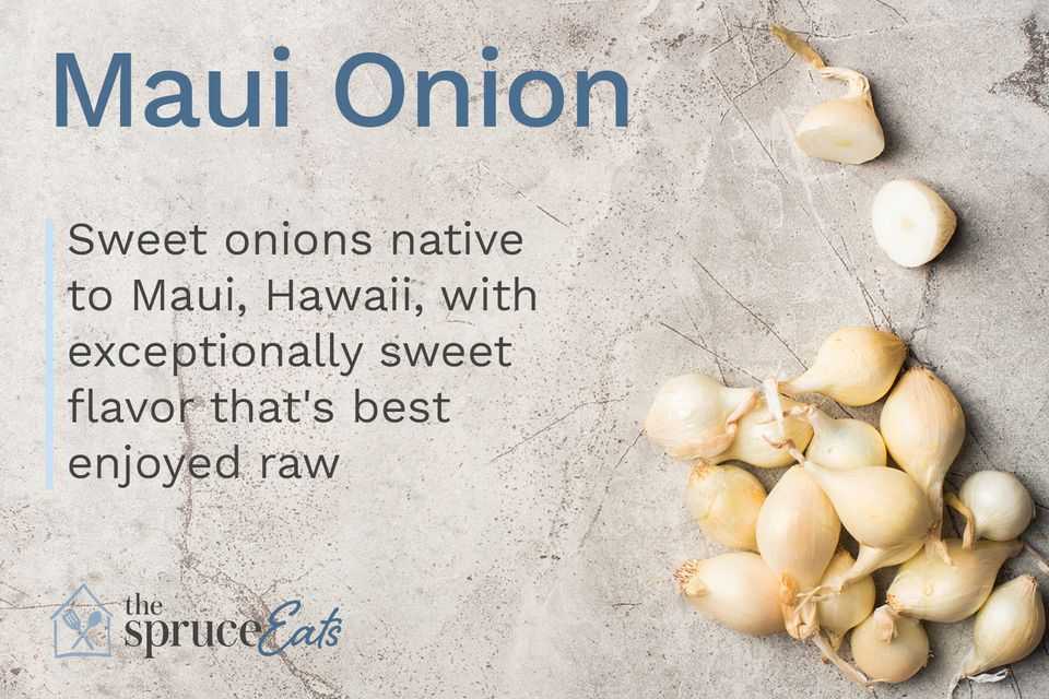 Maui onion photograph and explanation