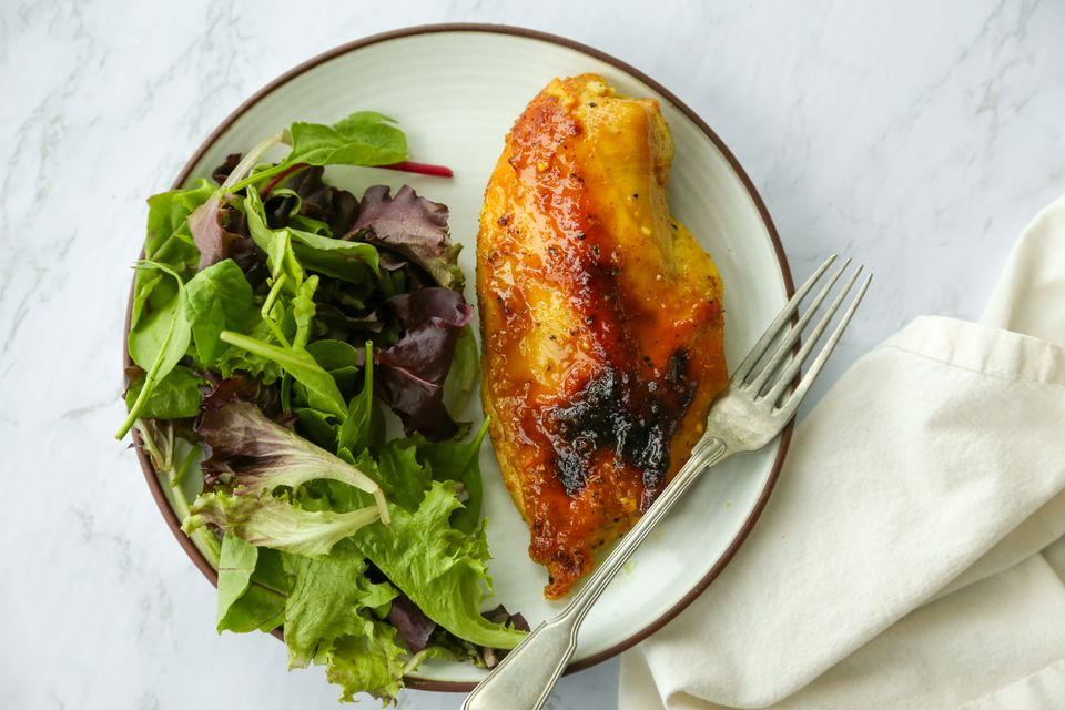Baked Orange Marmalade Chicken Breasts