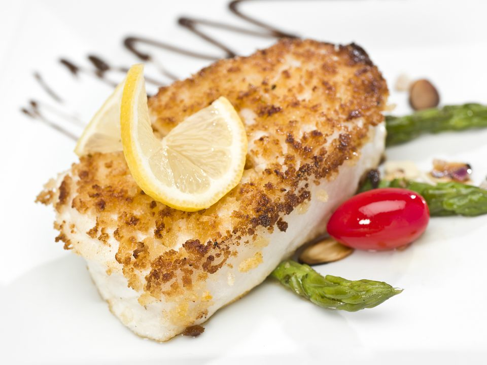 Receta de halibut al horno