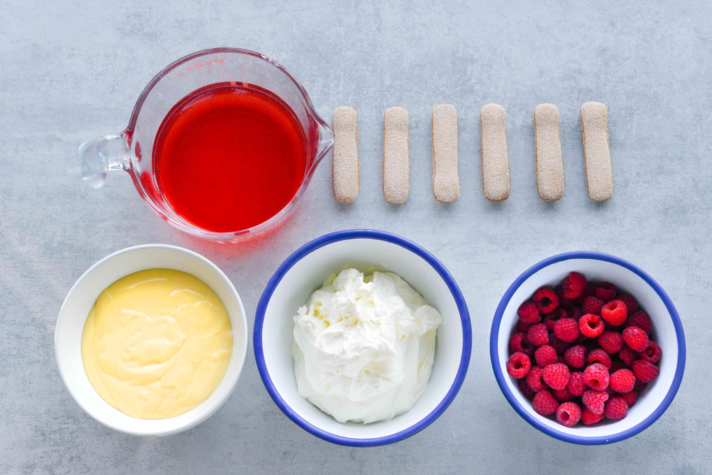 English trifle ingredients