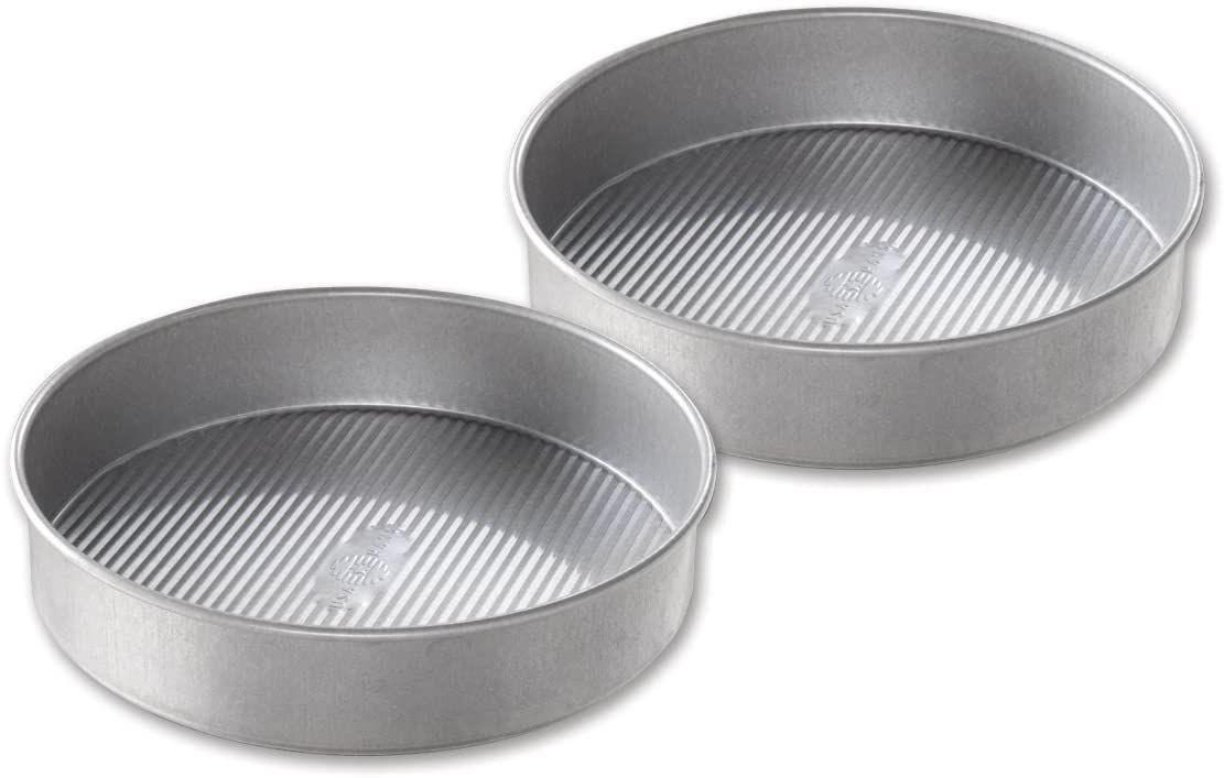 USA Pan Nonstick Round Cake Pan 9 Inch, Set of 2