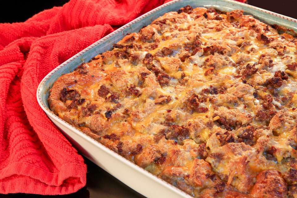 Savory Sausage-and-Egg Breakfast Casserole