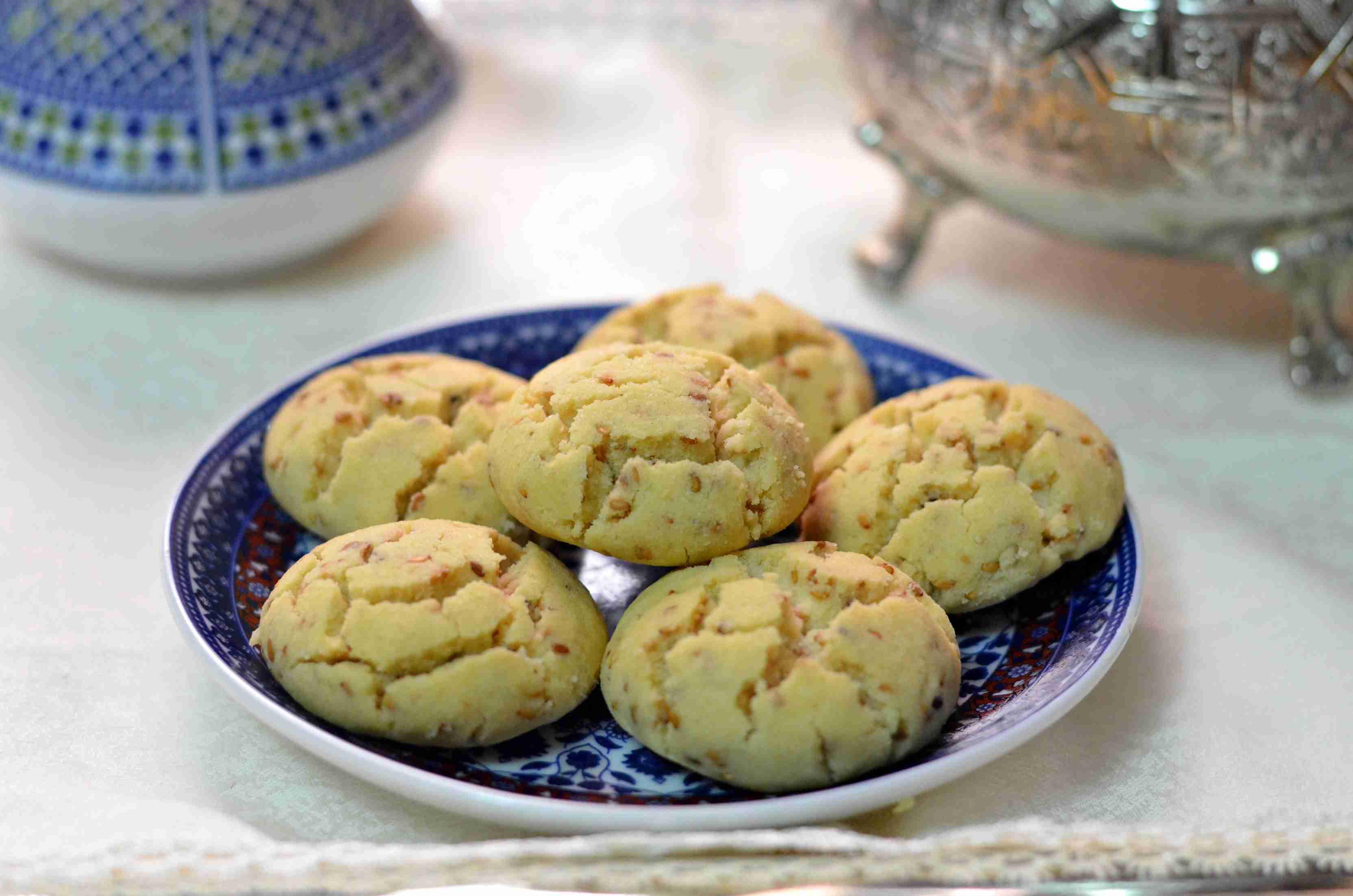Moroccan shortbread cookies