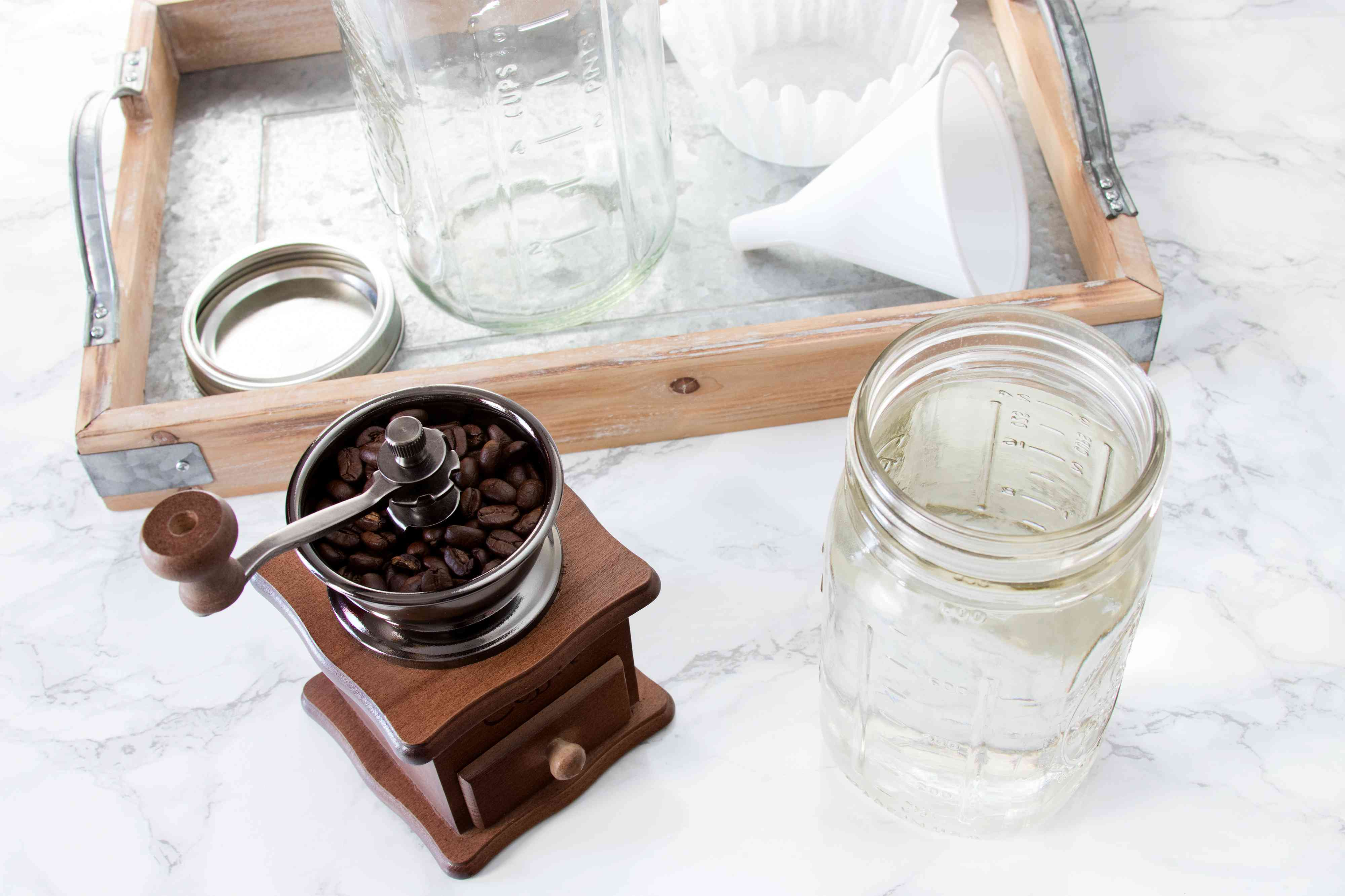 Ingredients for Cold Brew Coffee