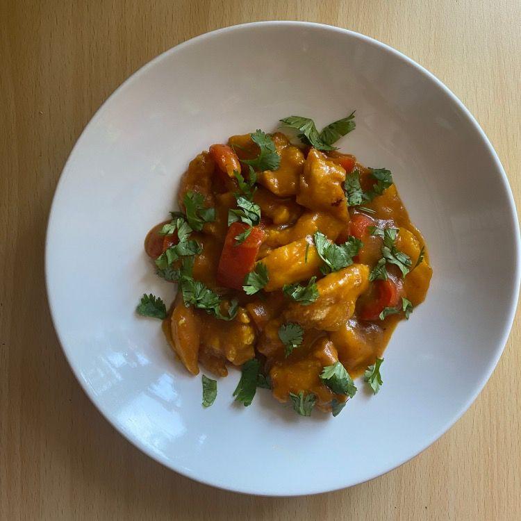 Thai Mango Chicken Tester Image