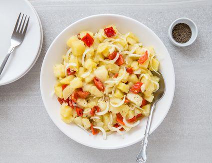 Serbian Potato Salad - Krompir Salata