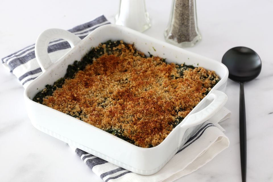 spinach casserole with cream cheese