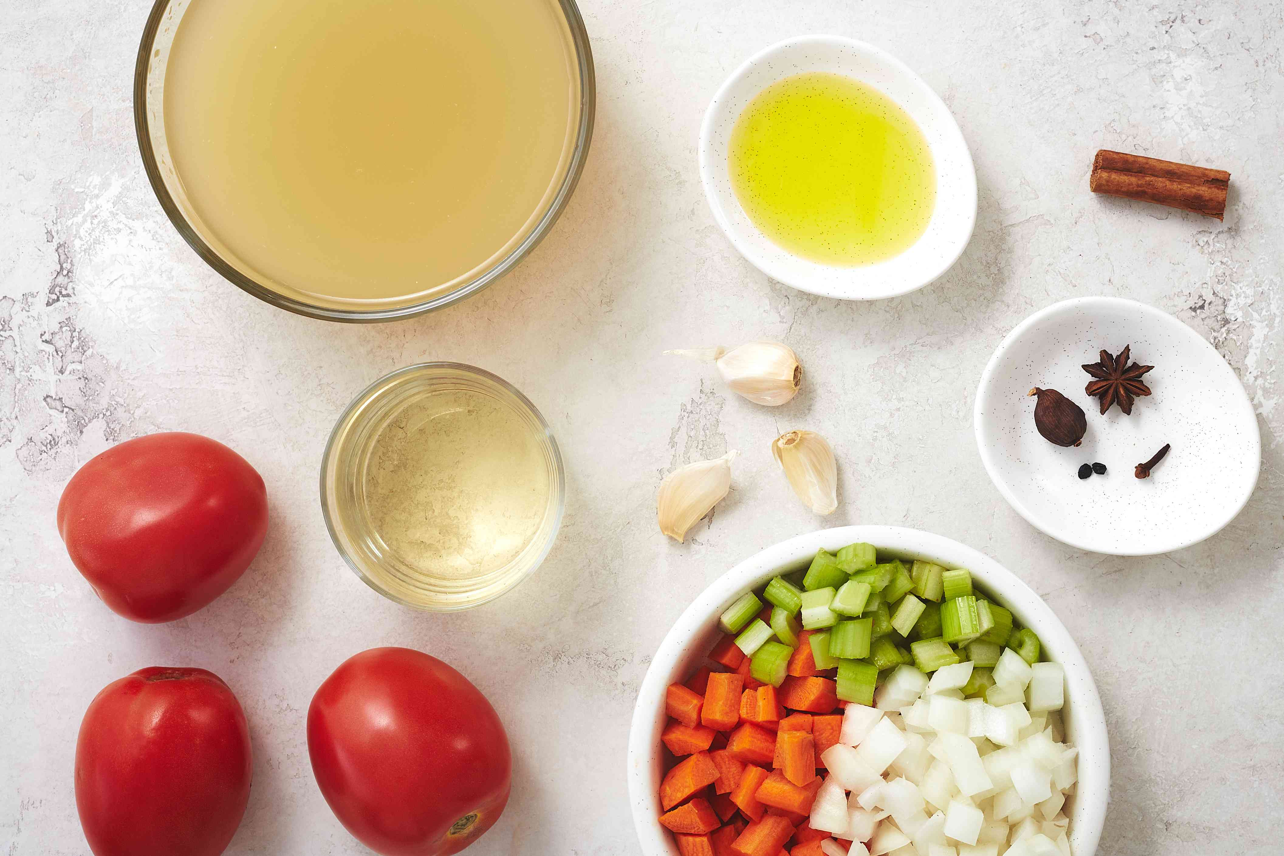 braising ingredients