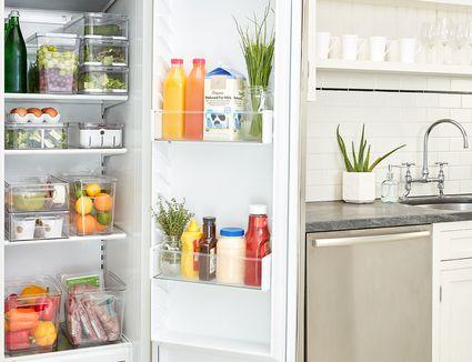 How to organize the fridge