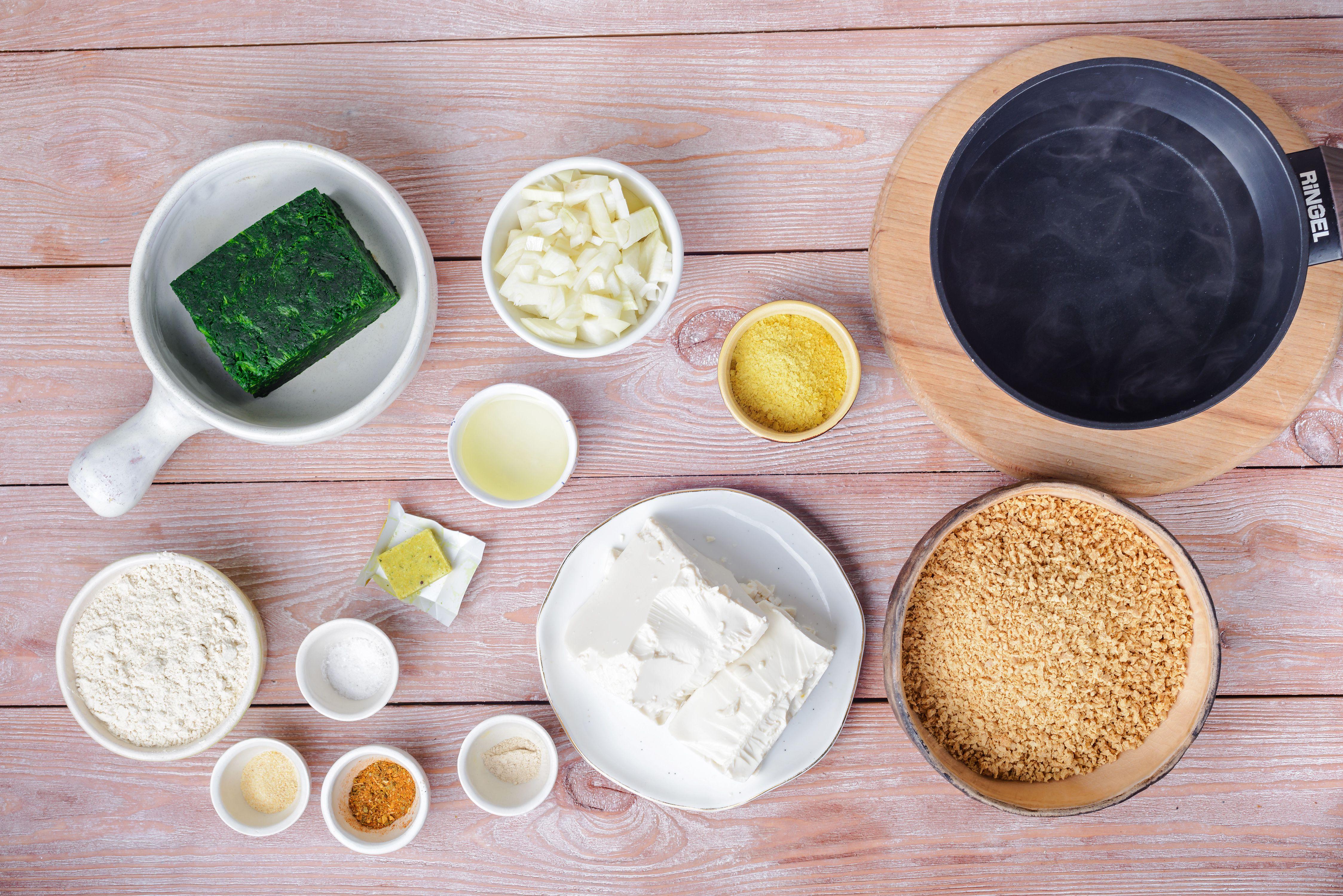 Vegan TVP ingredients