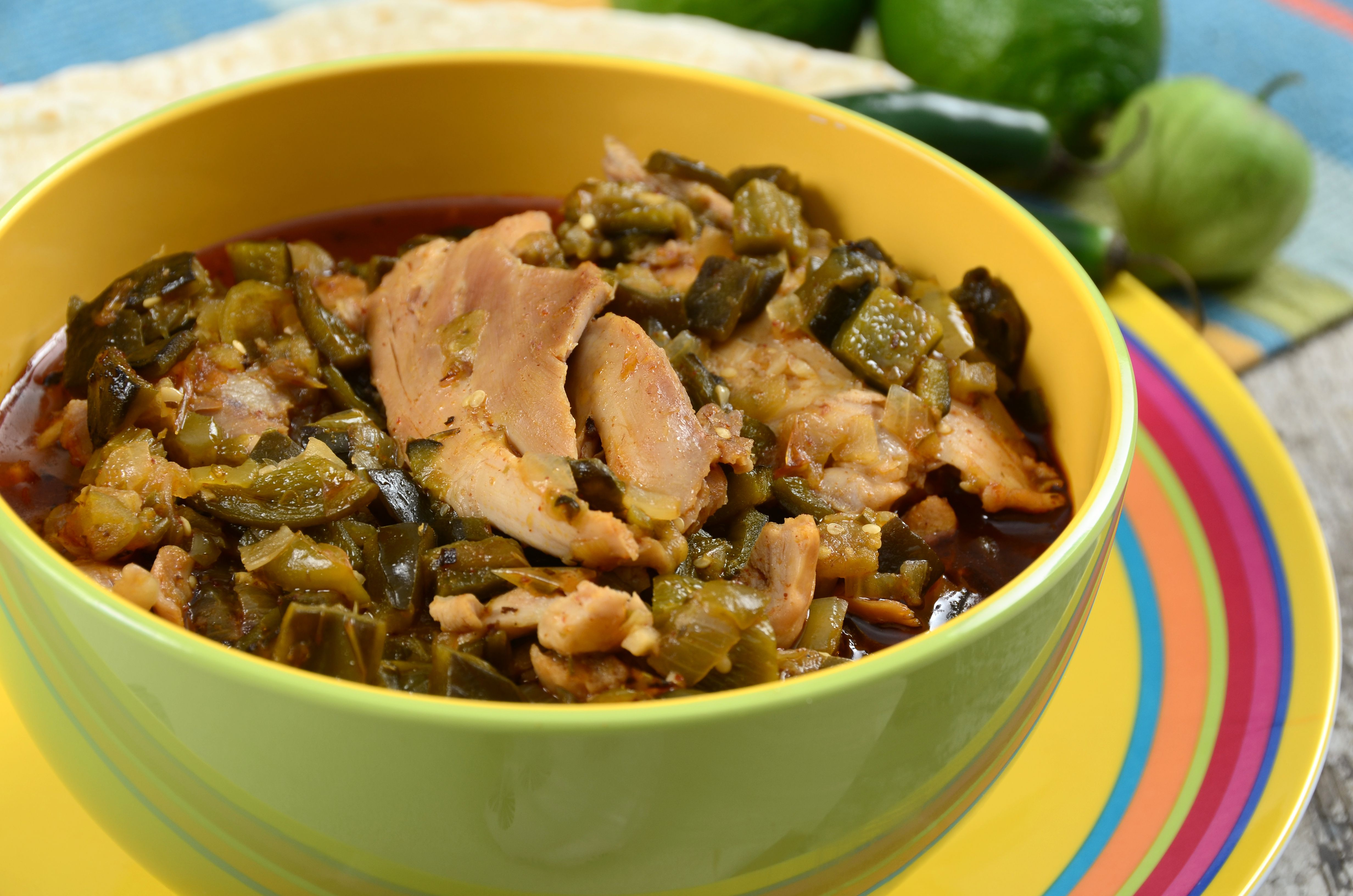 Slow-Cooked Chile Verde Recipe